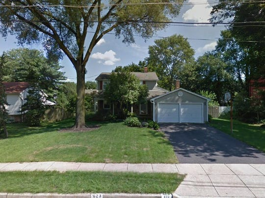 This Google Street View image shows the approximate location of 623 Bamford Road in Cherry Hill. The property at this address changed hands in June 2019, when new owners bought the property for $275,000.