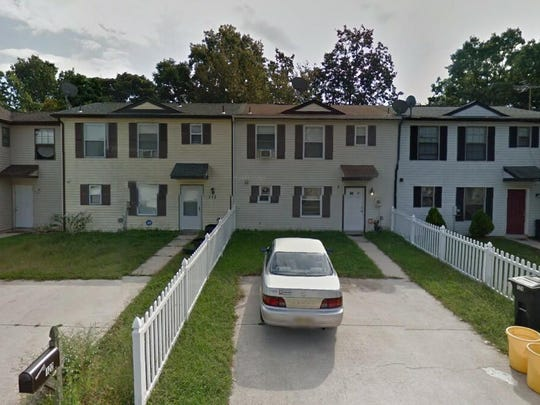 This Google Street View image shows the approximate location of 122 Hampshire Road in Gloucester Township. The property at this address changed hands in August 2019, when new owner bought the property for $92,500.