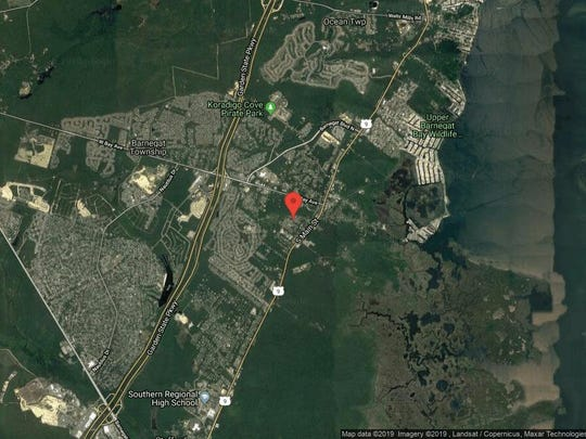This aerial photo shows the approximate location of 9 Blue Claw Drive in Barnegat. The property at this address changed hands in June 2019, when new owners bought the property for $368,000.