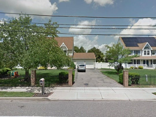 This Google Street View image shows the approximate location of 128 Mapletree Road in Toms River. The property at this address changed hands in June 2019, when new owners bought the property for $374,000.