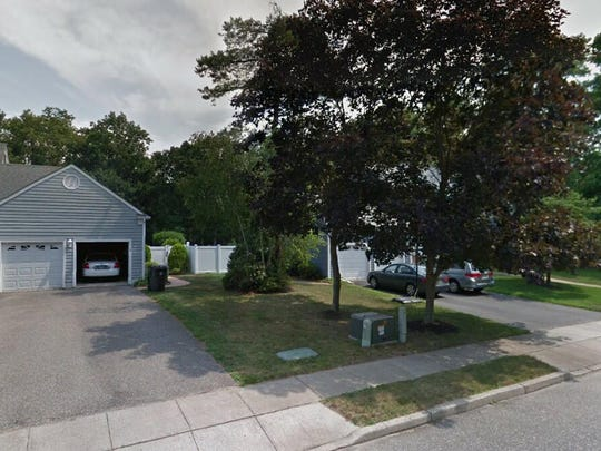This Google Street View image shows the approximate location of 257 Rivers Edge Lane in Toms River. The property at this address changed hands in June 2019, when new owners bought the property for $466,000.