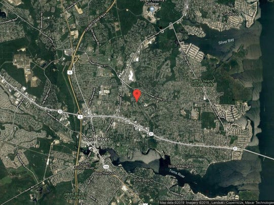 This aerial photo shows the approximate location of 765 Mehar Court in Toms River. The property at this address changed hands in August 2019, when new owner bought the property for $520,000.