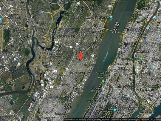 This aerial photo shows the approximate location of 770 Anderson Ave-20G in Cliffside Park. The property at this address changed hands in August 2019, when new owner bought the property for $250,000.