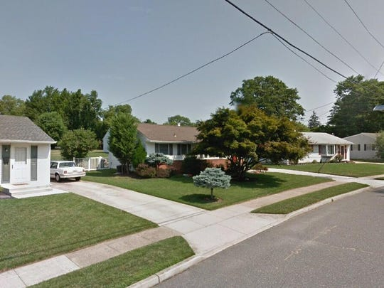 This Google Street View image shows the approximate location of 46 Rockland Terrace in Lumberton. The property at this address changed hands in July 2019, when new owners bought the property for $210,000.
