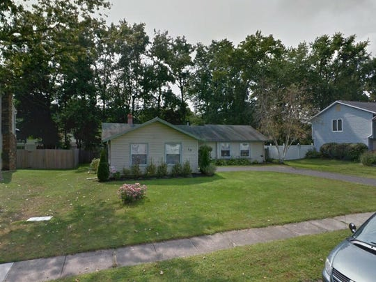 This Google Street View image shows the approximate location of 13 Holmes Lane in Evesham. The property at this address changed hands in September 2019, when new owner bought the property for $228,500.