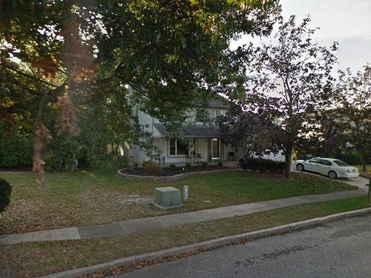 This Google Street View image shows the approximate location of 1 Jay Court in Evesham. The property at this address changed hands in August 2019, when new owners bought the property for $300,000.