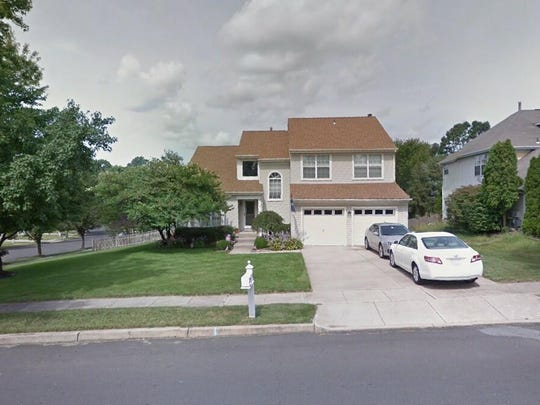 This Google Street View image shows the approximate location of 4 Saddlebrook Way in Washington. The property at this address changed hands in August 2019, when new owners bought the property for $313,500.
