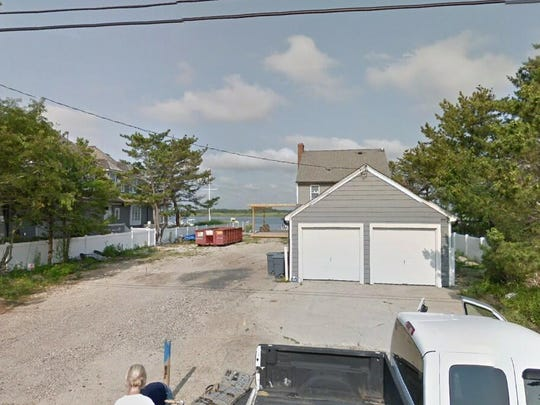 This Google Street View image shows the approximate location of 1038 Barnegat Lane in Mantoloking. The property at this address changed hands in September 2019, when the new owners bought the property for $3,225,000.
