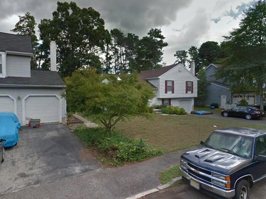 This Google Street View image shows the approximate location of 46 Masters Circle in Evesham. The property at this address changed hands in September 2019, when new owners bought the property for $274,000.