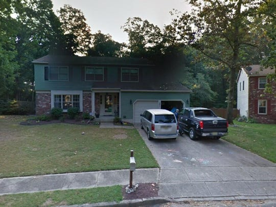 This Google Street View image shows the approximate location of 14 Dewberry Court in Mount Laurel. The property at this address changed hands in October 2019, when the new owners bought the property for $415,000.