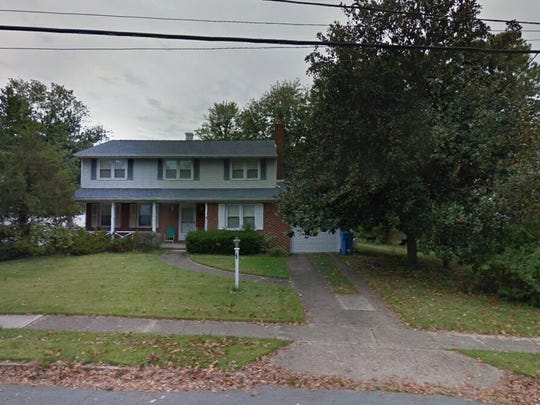 This Google Street View image shows the approximate location of 1518 Longfellow Drive in Cherry Hill. The property at this address changed hands in September 2019, when new owner bought the property for $287,150.