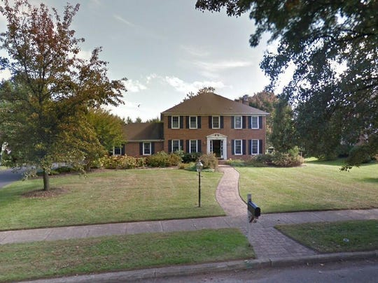 This Google Street View image shows the approximate location of 593 Sentinel Road in Moorestown. The property at this address changed hands in October 2019, when the new owners bought the property for $660,000.