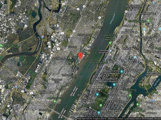 This aerial photo shows the approximate location of 9 Somerset Lane, Unit 421 in Edgewater. The property at this address changed hands in September 2019, when new owners bought the property for $750,000.