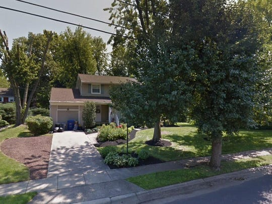 This Google Street View image shows the approximate location of 2904 Woodhaven Drive in Cinnaminson. The property at this address changed hands in September 2019, when new owners bought the property for $289,950.