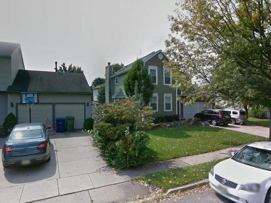 This Google Street View image shows the approximate location of 73 Tenby Lane in Evesham. The property at this address changed hands in October 2019, when new owners bought the property for $335,000.