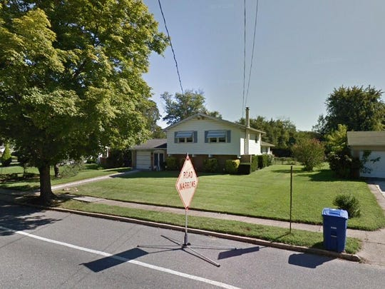 This Google Street View image shows the approximate location of 2402 New Albany Road in Cinnaminson. The property at this address changed hands in October 2019, when new owners bought the property for $234,900.