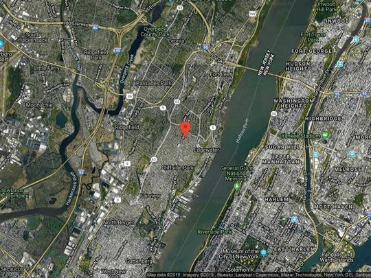 This aerial photo shows the approximate location of 770 Anderson Ave-10C in Cliffside Park. The property at this address changed hands in September 2019, when new owner bought the property for $275,000.