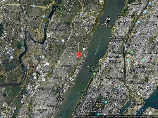 This aerial photo shows the approximate location of 100 Carlyle Dr-Cn11D in Cliffside Park. The property at this address changed hands in September 2019, when new owner bought the property for $555,000.