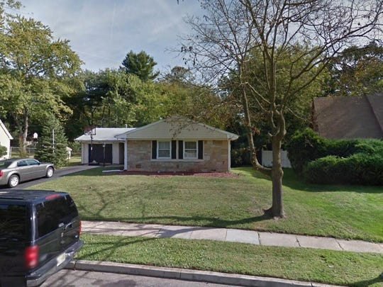 This Google Street View image shows the approximate location of 34 Glover Lane in Willingboro. The property at this address changed hands in August 2019, when new owners bought the property for $187,000.