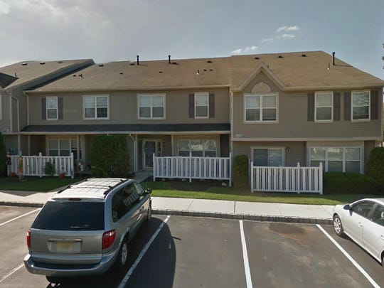 This Google Street View image shows the approximate location of 5906 Coventry Way in Mount Laurel. The property at this address changed hands in October 2019, when new owners bought the property for $187,500.