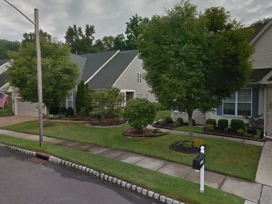 This Google Street View image shows the approximate location of 35 Morning Glory Drive in Evesham. The property at this address changed hands in July 2019, when new owners bought the property for $380,000.