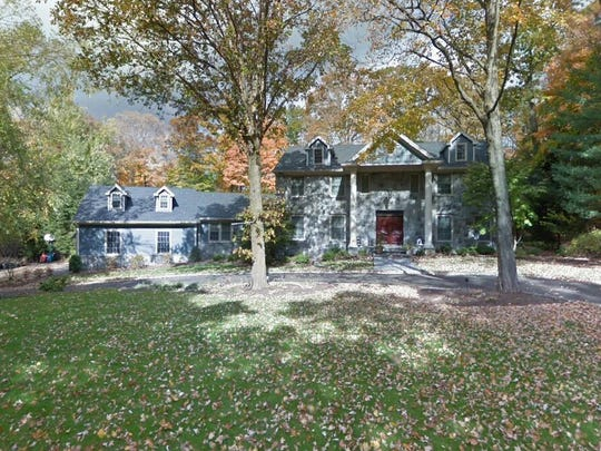 This Google Street View image shows the approximate location of 939 Huron Road in Franklin Lakes. The property at this address changed hands in September 2019, when new owners bought the property for $1,200,000.