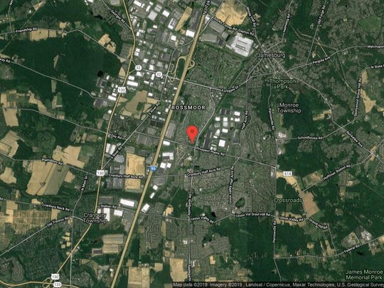 This aerial photo shows the approximate location of 402B Oxford Lane in Monroe. The property at this address changed hands in November 2019, when new owners bought the property for $200,000.