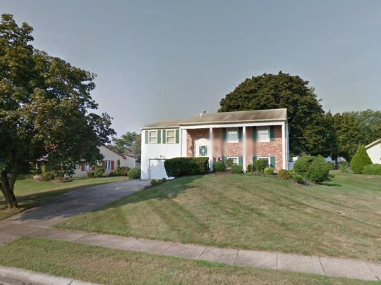 This Google Street View image shows the approximate location of 50 Triangle Lane in Willingboro. The property at this address changed hands in July 2019, when new owner bought the property for $169,500.