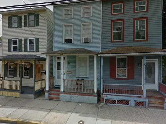This Google Street View image shows the approximate location of 56 Pine St. in Mount Holly. The property at this address changed hands in September 2019, when new owner bought the property for $120,000.