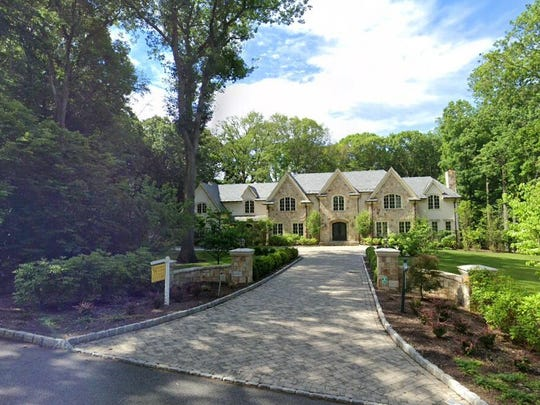 This Google Street View image shows the approximate location of 64 Oak Road in Saddle River. The property at this address changed hands in October 2019, when new owners bought the property for $4,650,000.