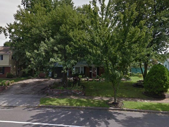 This Google Street View image shows the approximate location of 12 Plymouth Drive in Evesham. The property at this address changed hands in November 2019, when new owner bought the property for $213,000.