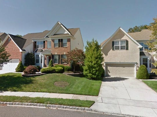 This Google Street View image shows the approximate location of 1 Red Hill Court in Mount Laurel. The property at this address changed hands in November 2019, when new owners bought the property for $484,000.