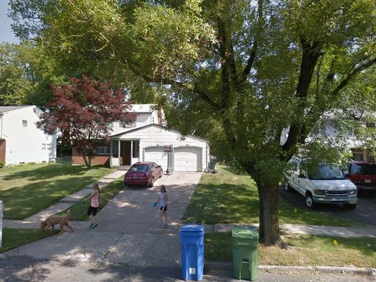 This Google Street View image shows the approximate location of 413 Old Orchard Road in Cherry Hill. The property at this address changed hands in August 2019, when new owner bought the property for $218,000.