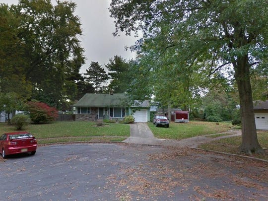 This Google Street View image shows the approximate location of 1610 Badger Lane in Cherry Hill. The property at this address changed hands in September 2019, when new owner bought the property for $217,000.