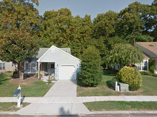 This Google Street View image shows the approximate location of 110 Lakebridge Drive in Deptford. The property at this address changed hands in October 2019, when new owner bought the property for $197,500.