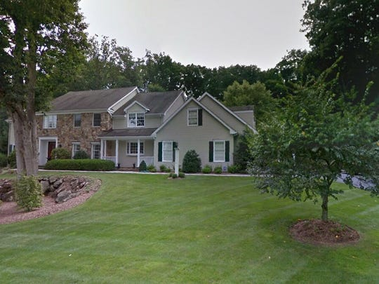 This Google Street View image shows the approximate location of 34 Brookrace Drive in Mendham Township. The property at this address changed hands in July 2019, when new owners bought the property for $1,365,000.