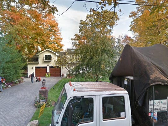 This Google Street View image shows the approximate location of 591 Spruce Lane in Franklin Lakes. The property at this address changed hands in September 2019, when new owners bought the property for $860,000.