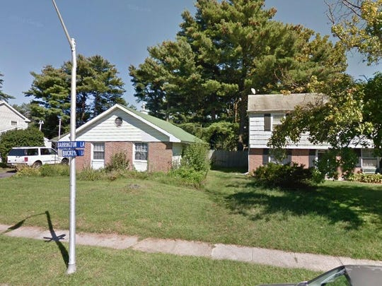 This Google Street View image shows the approximate location of 38 Barrington Lane in Willingboro. The property at this address changed hands in October 2019, when new owner bought the property for $180,000.