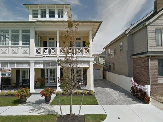 This Google Street View image shows the approximate location of 101 S. Argyle Ave. in Margate City. The property at this address changed hands in October 2019, when the new owner bought the property for $1,900,000.