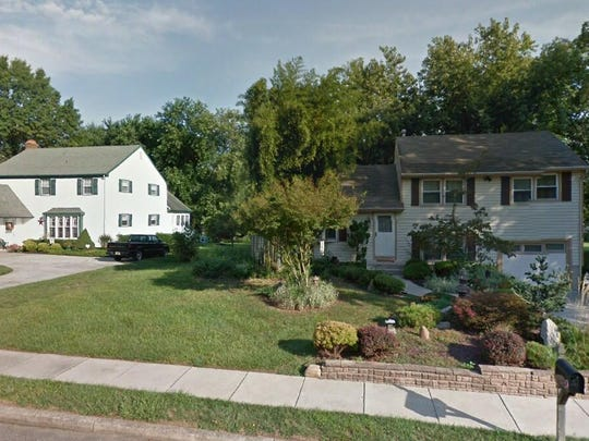 This Google Street View image shows the approximate location of 104 Green Briar Road in Delran. The property at this address changed hands in October 2019, when new owner bought the property for $238,000.