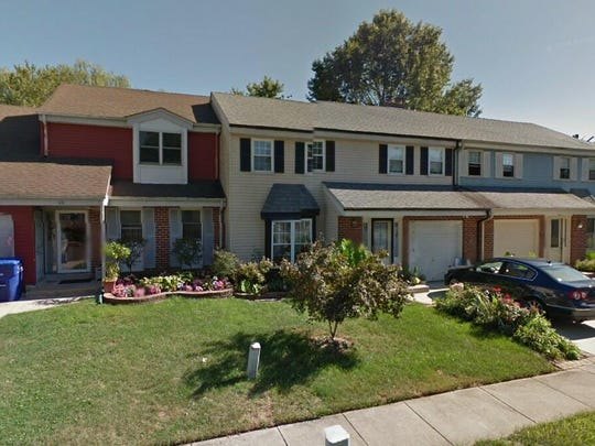 This Google Street View image shows the approximate location of 110 Eton Lane in Mount Laurel. The property at this address changed hands in October 2019, when new owner bought the property for $195,000.