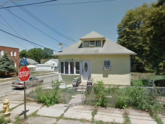 This Google Street View image shows the approximate location of 338 No 37th St. in Camden. The property at this address changed hands in October 2019, when new owner bought the property for $128,000.