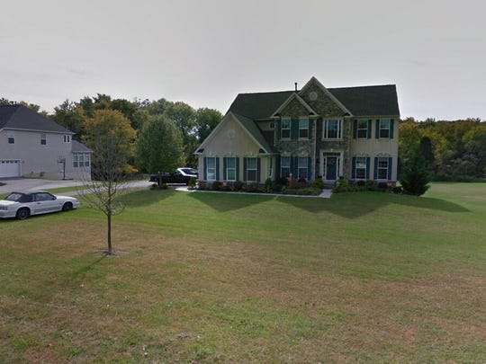This Google Street View image shows the approximate location of 1224 Oldmans Creek Road in Woolwich. The property at this address changed hands in August 2019, when new owners bought the property for $395,000.