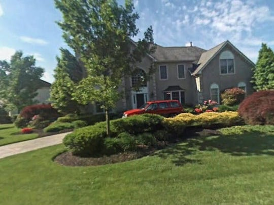 This Google Street View image shows the approximate location of 4 Baltusrol Terrace in Moorestown. The property at this address changed hands in November 2019, when the new owners bought the property for $765,000.