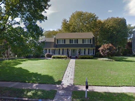 This Google Street View image shows the approximate location of 539 Eaglebrook Drive in Moorestown. The property at this address changed hands in December 2019, when the new owners bought the property for $685,000.