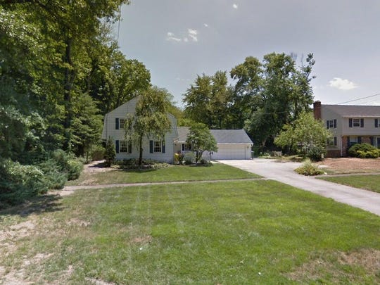 This Google Street View image shows the approximate location of 1215 Brace Road in Cherry Hill. The property at this address changed hands in September 2019, when the new owners bought the property for $425,000.