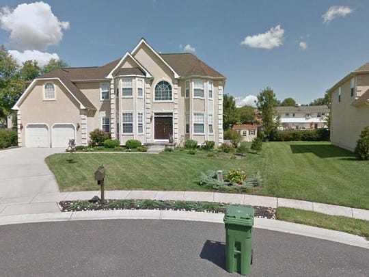 This Google Street View image shows the approximate location of 10 Enclave Court in Evesham. The property at this address changed hands in December 2019, when new owner bought the property for $550,000.