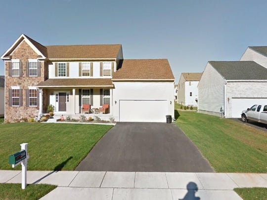 This Google Street View image shows the approximate location of 206 Peony Lane in Deptford. The property at this address changed hands in November 2019, when the new owner bought the property for $322,000.