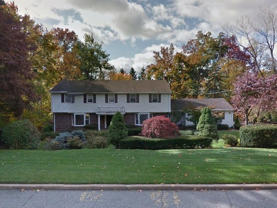 This Google Street View image shows the approximate location of 910 Huron Road in Franklin Lakes. The property at this address changed hands in September 2019, when new owner bought the property for $650,000.