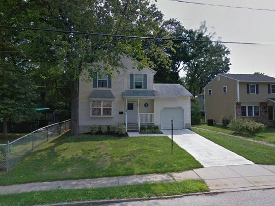 This Google Street View image shows the approximate location of 10 E. Center Ave. in Maple Shade. The property at this address changed hands in November 2019, when new owners bought the property for $215,000.